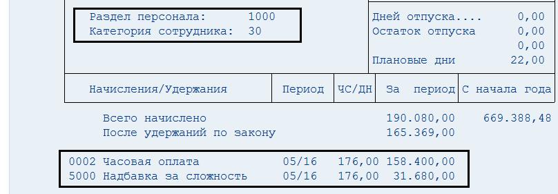 РИС_36.Расчетный лист, условие 1 - Почасовик.